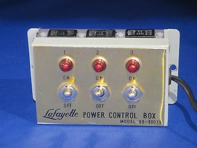 Lafayette Power Control Box # 99-80079 Trains Toys Hobbies Electronic Works Well