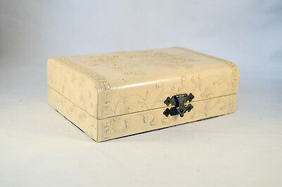 French Celluloid Box With Accessories