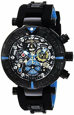Invicta Mens Character Collection Quartz Stainless Steel and Silicone Casual