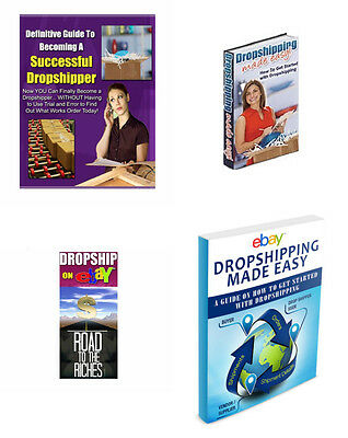 15 Drop Shipping eBooks and eBay advise and help (eBook-PDF file)