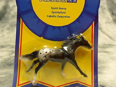 Breyer NIP * Appaloosa Sport Horse * 6031 Thoroughbred SM Stablemate Model Horse