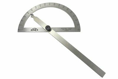 "Kinex 7-3/4"" Machinist Protractor Angle Finder Stainless Steel 1089-07-200"