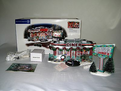 Department 56 - Shelly's Diner - The Original Snow Village Collection - 56-55008