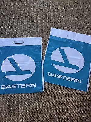 Eastern Airlines Vintage Shopping Gift Bags Set Of 2