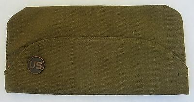 ORIGINAL WW1 Vintage US ARMY FRENCH Style OVERSEAS CAP ENLISTED GARRISON HAT