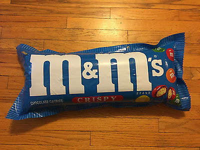 vintage M&Ms crispy chocolate candy INFLATABLE STORE DISPLAY 2 sided