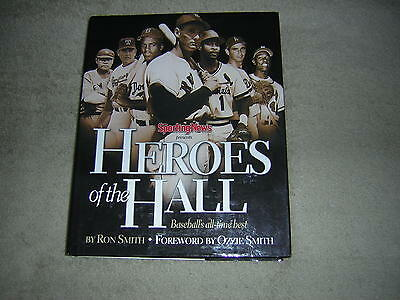 Heroes of the Hall : Baseball's Greatest Players Large Hardcover Book NEW $34.95