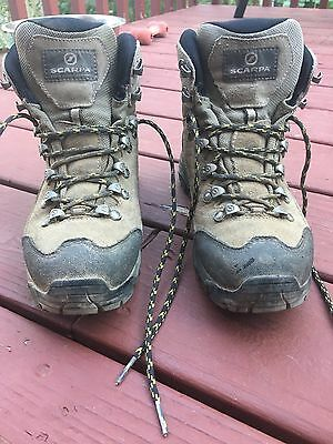 b8afd6df13a WOMEN'S SCARPA KAILASH GTX Hiking / Backpacking Boots - Excellent Condition