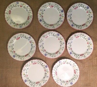 Set of 8 Johnson Brothers Bros Summer Chintz  Bread And Butter Plates