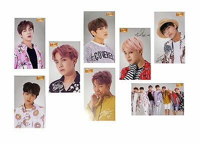 BTS Bangtan Boys BBQ Chicken Official Photo Card Ver. 2 Limited NEW K-POP