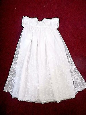 Stunning Lace Christening Gown