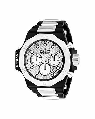 Invicta Mens Akula Quartz Stainless Steel Casual Watch, Color:Silver-Toned