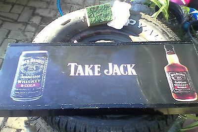 jack daniels OLD perspex light front - make a great bar sign