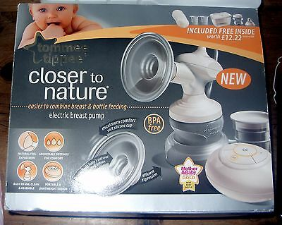 Tommee Tippee Closer To Nature Electric Breast Pump Set,used but good condition