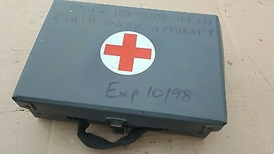 Army Military First Aid Box In Vgc New Old Stock