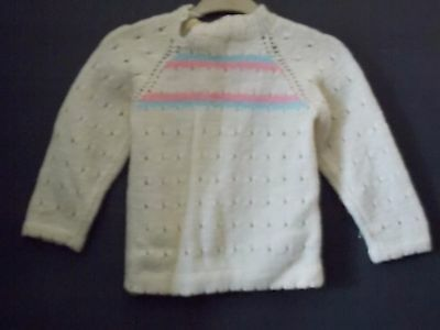 Vintage ~ Hand Knitted Children's Sweater