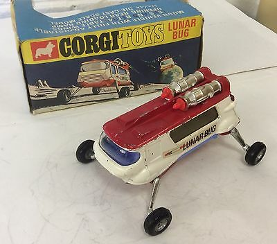 Corgi 806 LUNAR BUG Moon Buggy. Good Original with original box
