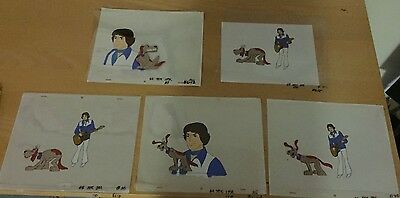 5  Lot  Butch Cassidy And The Sundance Kids  Production Cel  1973