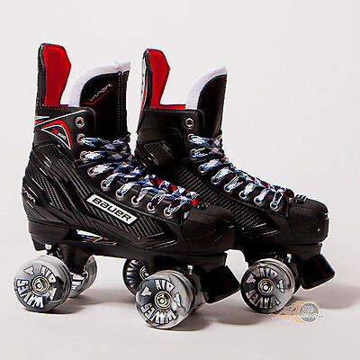 Bauer Quad Roller Skates - Vapor X300 S17 - 2017 Model - Conversion - Airwaves