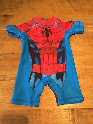 Baby Boy - Spiderman bathing suit - 3 - 6 Months