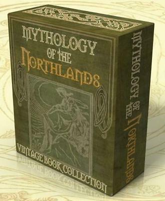 MYTHOLOGY of the NORTH 180 vintage books on DVD Norse Vikings Teuton Odin Sagas
