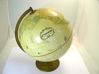 "REPLOGLE GLOBEMASTER 12""  Raised-Relief GLOBE"