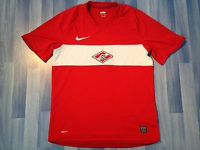 Medium Adults Spartak Moscow Football Shirt Season 2009-2010 Home