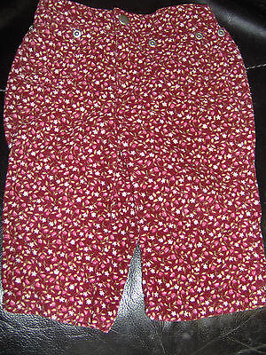 Cherokee Floral Jeans Pants Size 6 months