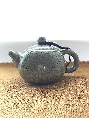 Chinese Clay Cracked Teapot