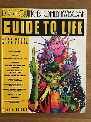 D.R. & QUINCH'S GUIDE TO LIFE BY ALAN MOORE & ALAN DAVIS 1st PRINT FROM 2000AD