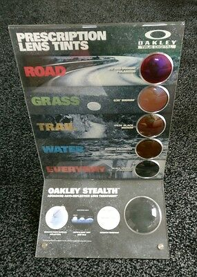 Oakley Sunglasses Lens Tints Display Stand