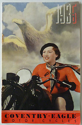 Coventry Eagle Motor Cycles 1936 - Sales Brochure