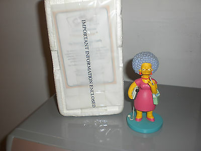The SIMPSONS Patty Bouvier Nuclear Family Collection Hamilton Sculpture RARE