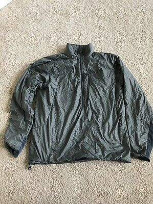 Marmot Isotherm 1/2 Zip Men's Size L - Large - Gray Insulated Jacket