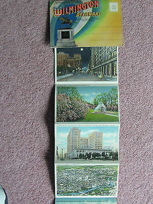 18 Vintage Post Cards Wilmington DE Old Swedes Church Rodney Square Dupont Hotel