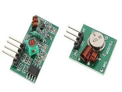 433mhz Transmitter + Receiver RF wireless ASK OOK arduino hobby UK        A302/3