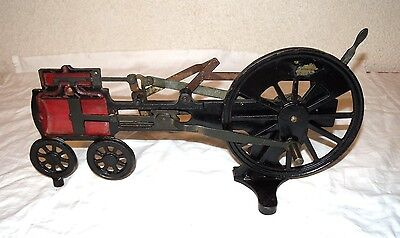 Antique Chicago Apparatus Co. Cut Away Locomotive Steam Engine Lab Display