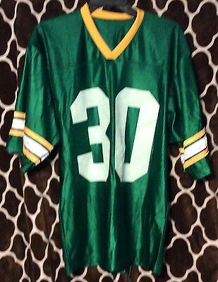 JOHN DEERE Green jersey with #30 on it shirt men's Size M Made in USA C204