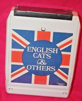 ENGLISH CATS AND OTHERS White 8 Track Tape Factory Sealed NOS