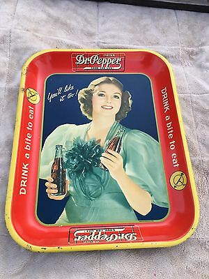 1930's Dr. Pepper Tray