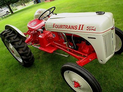 Ford Fourtrans 8-N Tractor