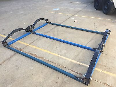 New Tandem Roller Rocker Suspension Cradle Kit Ready For Use Suit Dual Axle Car