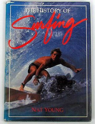 History of Surfing by Nat Young Rare 1st Edition Hardcover Book 1998