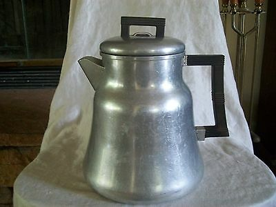 Vintage Wear Ever Aluminum Coffee Pot # 3012 Stove Top Camping