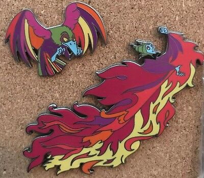Disney MALEFICENT Sleeping Beauty and DIABLO - COLORS OF EVIL LE 500 Pin