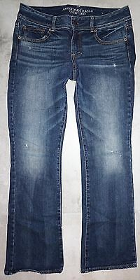 Women's American Eagle Kick Boot Stretch School Clothes Jeans 10x32