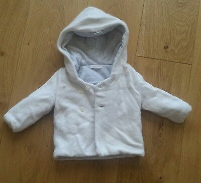 Purebaby thick cotton wool coat jacket  perfect for winter size 0