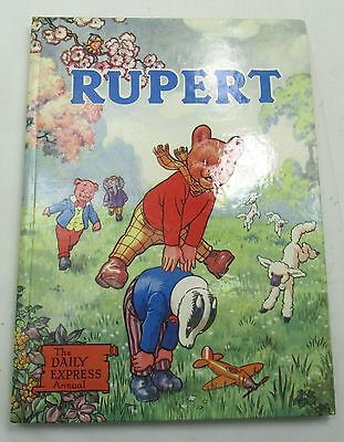 RUPERT BEAR DAILY EXPRESS ANNUAL 1958 VINTAGE COMIC STRIP ALFRED BESTALL 1950s