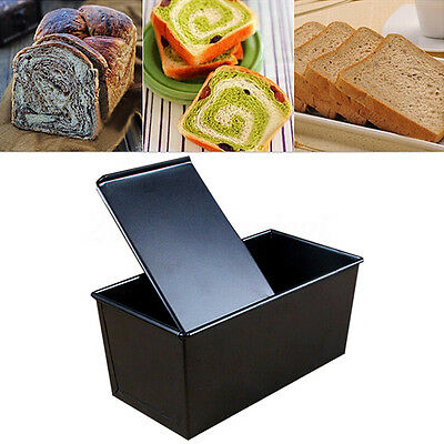 Rectangle Nonstick Box Large Loaf Tin Home Bread Pastry Cake Baking Bakeware Hot