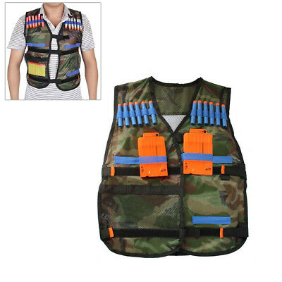 Tactical Vest Storage Pocket Pockets for Nerf Elite Gifts For Kids Children new